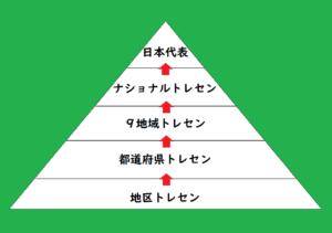日本型選手育成システムのイラスト