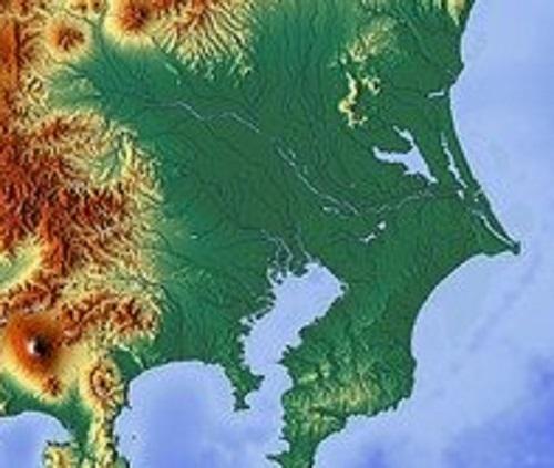 水戸ホーリーホックがある関東地区の地図